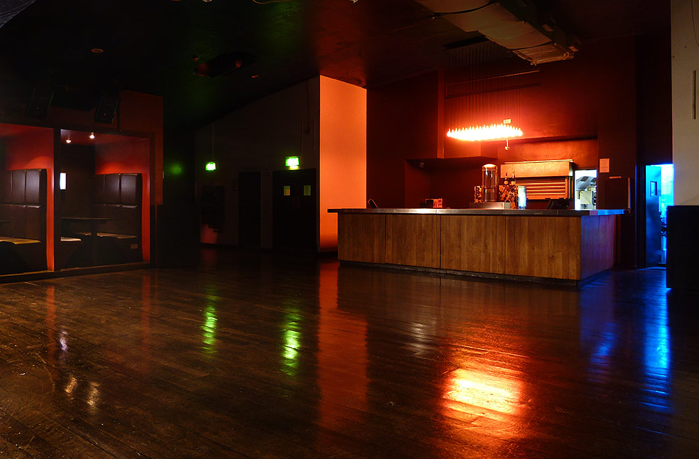 Our venue scala for Balcony lounge