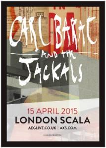 carl barat jackals poster