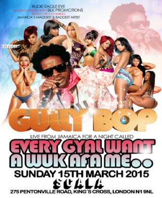Gully Bop flyer
