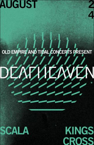 deafheaven 2015 poster
