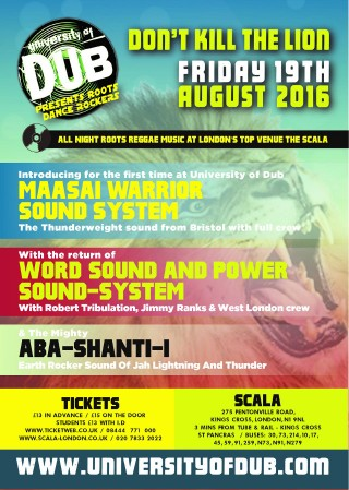 Front flyer August 2016