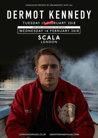 Dermot Kennedy Scala February 2018 v2-3 Web
