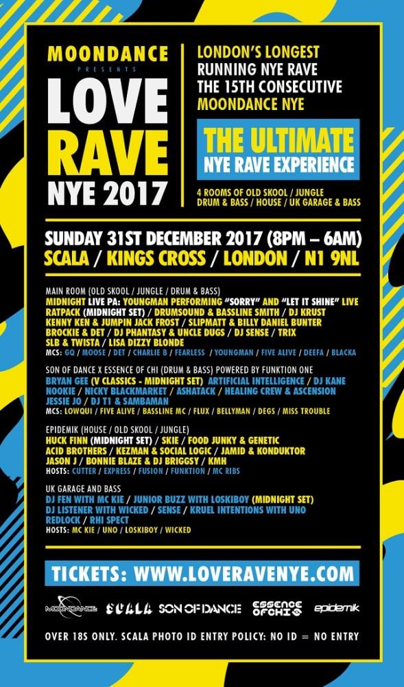 Love Rave NYE 2017