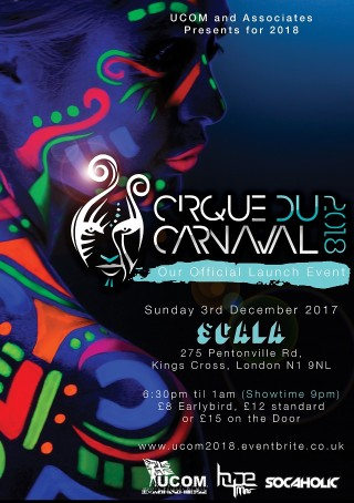 Cirque Launch Flyer