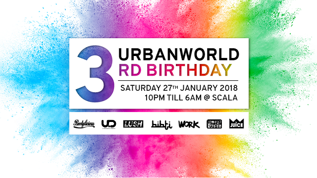 Urban World 3rd Birthday Party