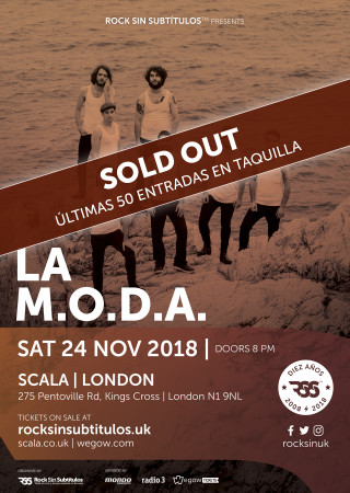 La MODA London Sold Out RGB