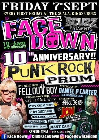 face down september poster