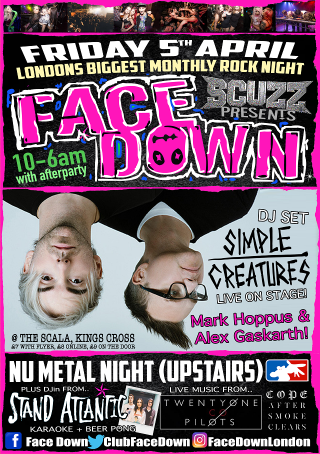 FaceDown-5th-Apr-19