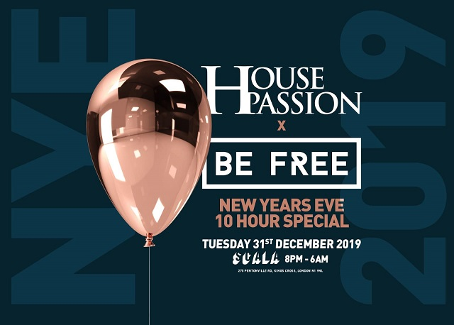House Passion X Be Free