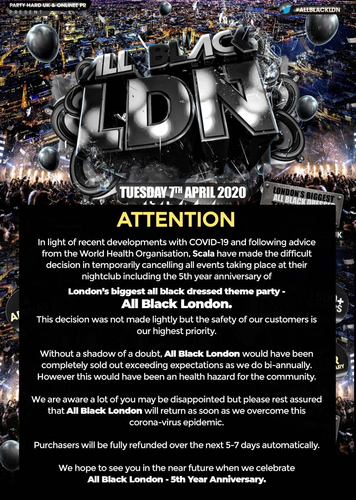 All Black London